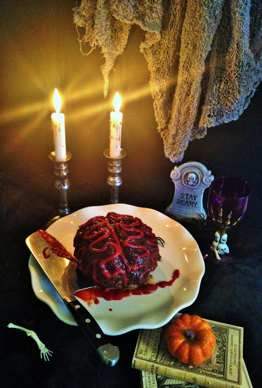 Zombie brain Meatloaf. This super easy Halloween recipes is great fun for kids and serves a crowd. Meat lovers unite. I https://thecookingspoon.org