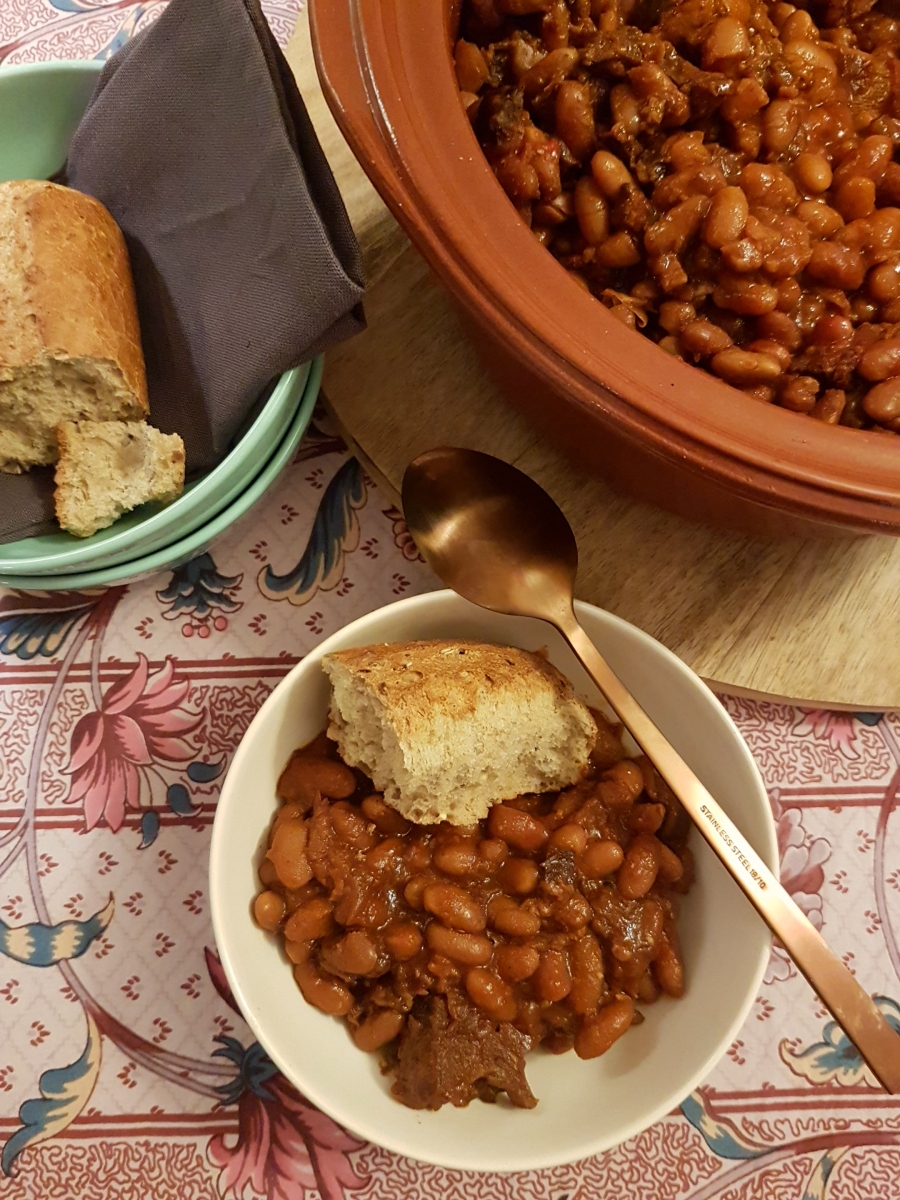 Baked Beans, three cooking methods