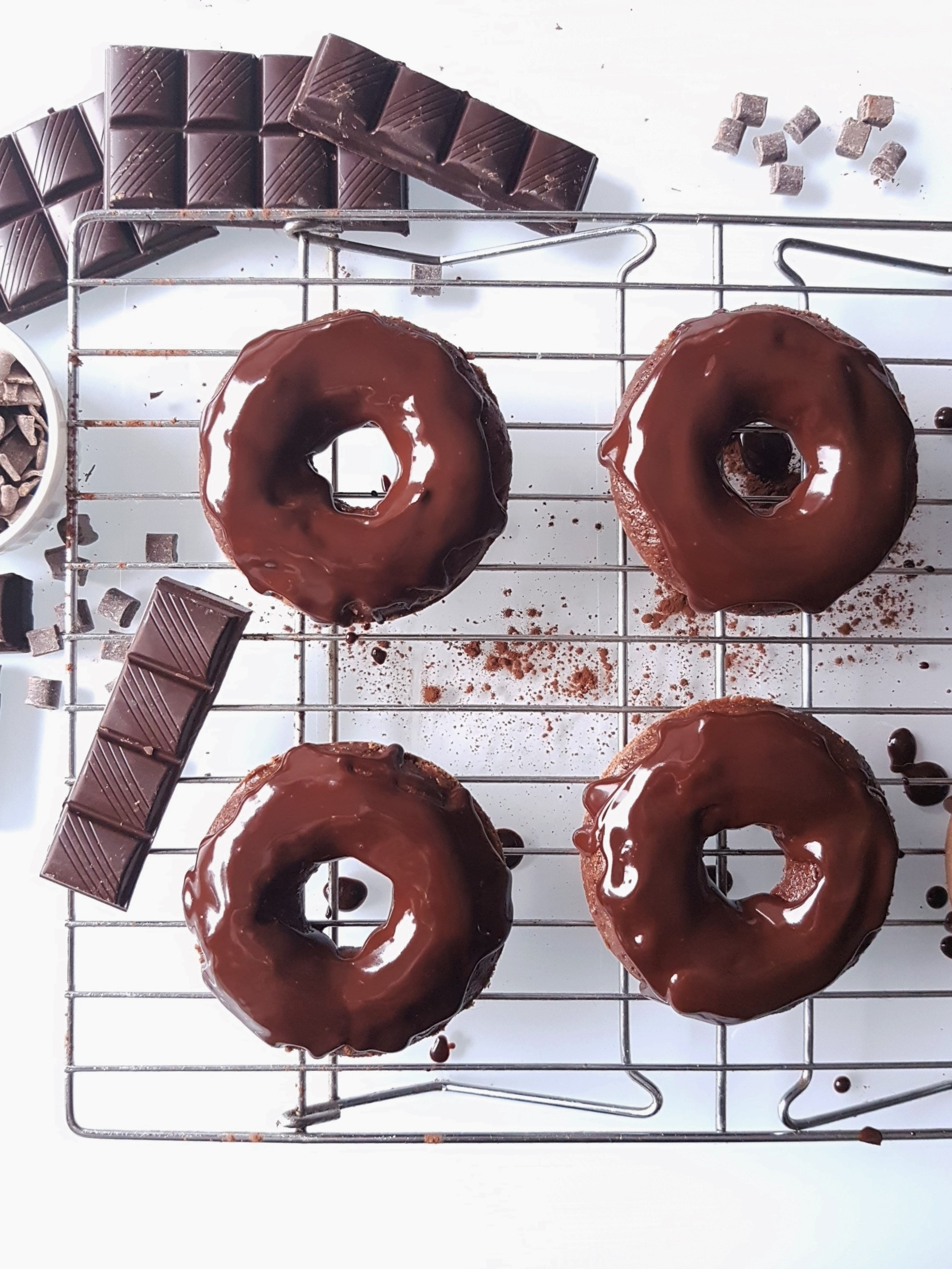 Triple Chocolate Donuts41