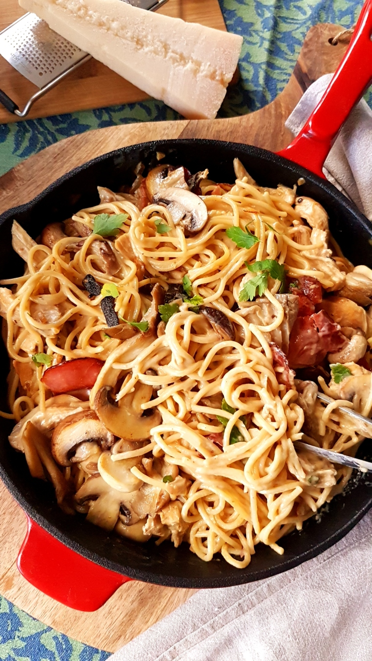 Browned Sage Butter and Turkey Pasta with wild Mushrooms ...