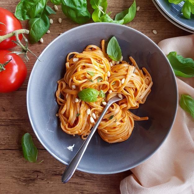 red pepper pasta
