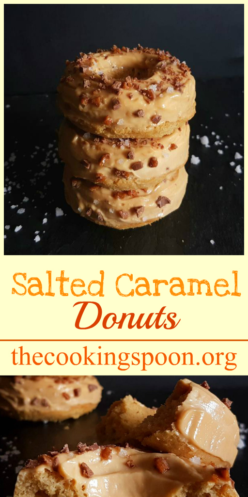 salted caramel donuts