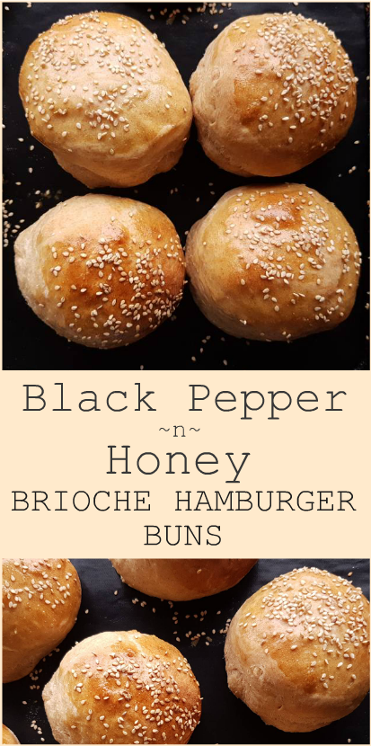 pepper honey hamburger buns
