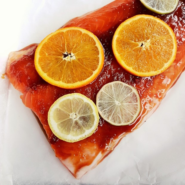 Citrus Honey Soy Salmon