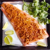 Brown Sugar Cajun Butter Salmon3