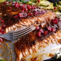 Brown Sugar Cajun Butter Salmon